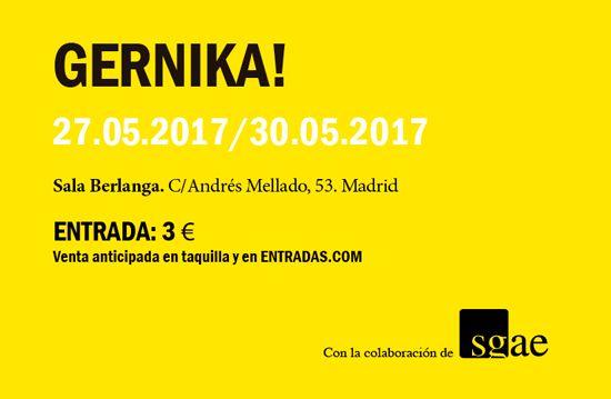 Sala Berlanga del 26 de Mayo al 1 de Junio