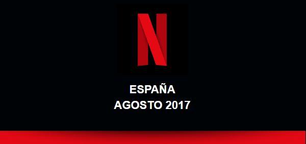 Netflix Agosto 2017
