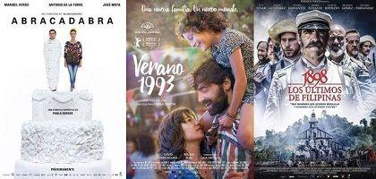 películas españolas candidatas a los Oscar 2018