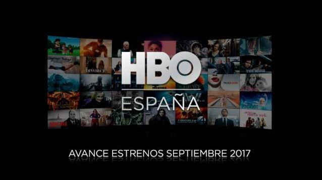 HBO España Septiembre 2017
