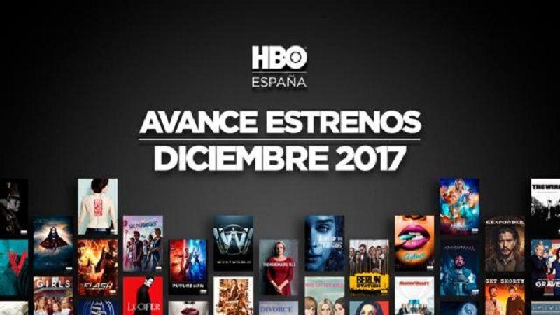 HBO España Diciembre 2017