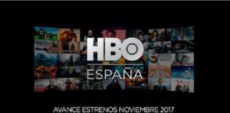 HBO España Noviembre 2017