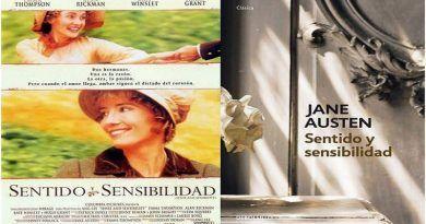Sentido y Sensibilidad, novela vs película, de Jane Austen y Ang Lee