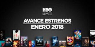 HBOEspaña Enero 2018