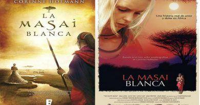 La Masai Blanca, novela vs película, de Corinne Hofmann y Hermine Huntgeburth