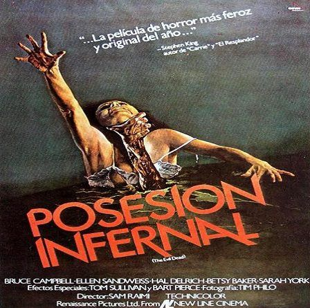 The Evil Dead Posesión Infernal