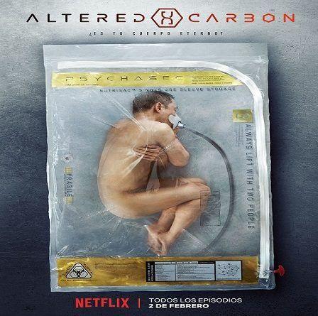 Tráiler oficial de Altered Carbon