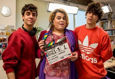 rodaje de la segunda temporada de Paquita Salas