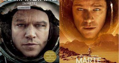 El Marciano y Marte, novela vs película, de Andy Weir y Ridley Scott