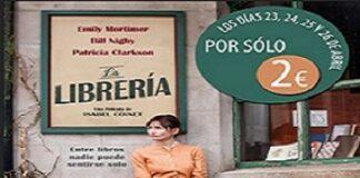 Librería en cines por dos euros