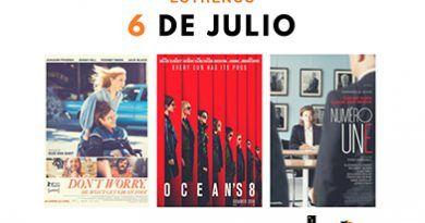 estrenos 6 de julio