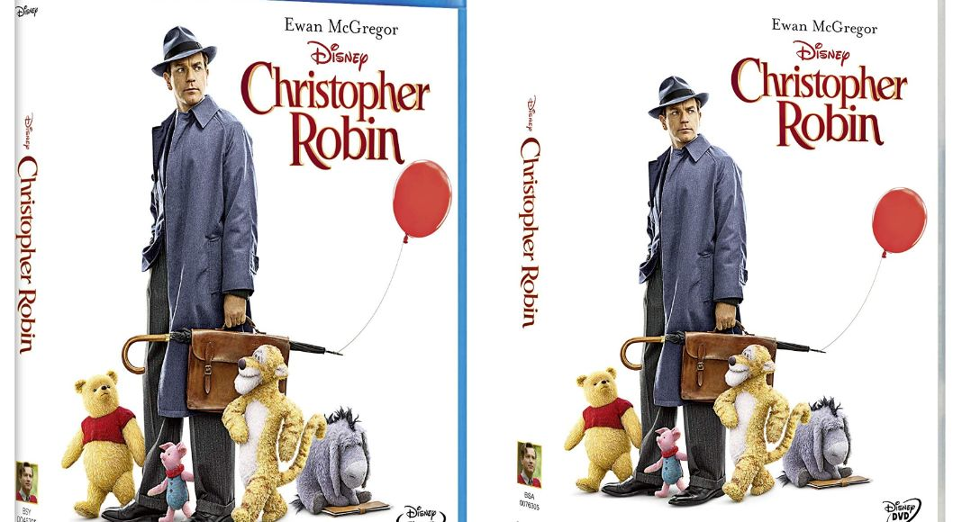 Christopher Robin en DVD y BLU-RAY