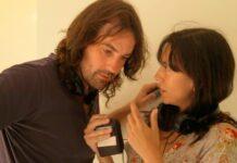 Isaki Lacuesta e Isa Campo en Cine Doré