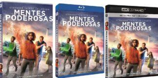 Mentes Poderosas en DVD y BLU-RAY