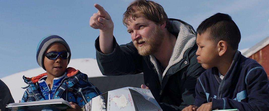 PelículaProfesor en Groenlandia