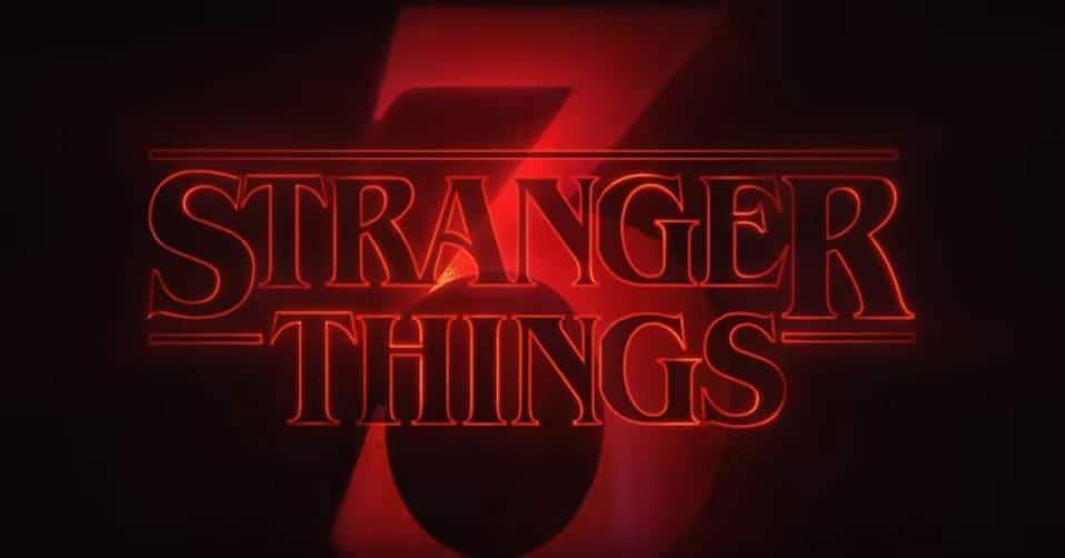 Vídeo especial de StrangerThings3