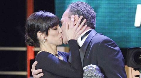 José Coronado y el beso con Maribel Verdú
