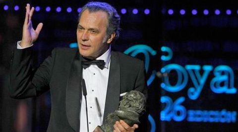 José Coronado ganando su primer Goya