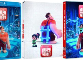 Ralph rompe Interneten DVD y BLU-RAY