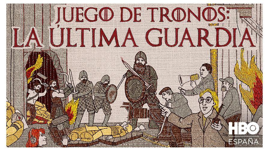 JUEGO DE TRONOS LA ÚLTIMA GUARDIA
