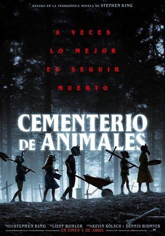 cementerio de animales poster