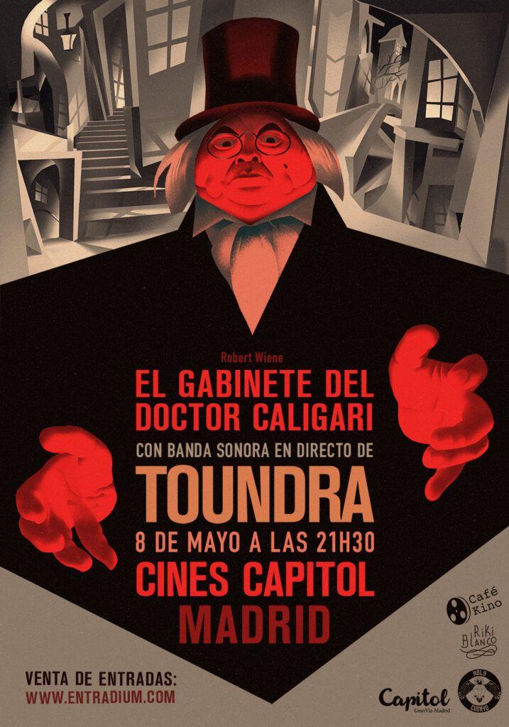 El Gabinete del Doctor y Caligari y la banda de rock Toundra