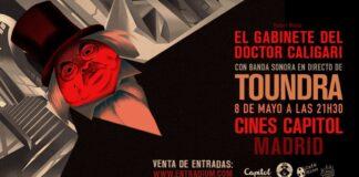 Gabinete del Doctor Caligari y rock Toundra