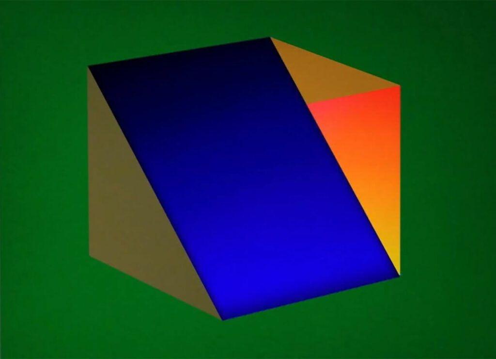 Objeto Abstracto, Punto y Raya 2018