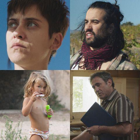 Protagonistas de la película de Sarah Hirtt