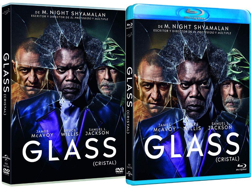 Glass en DVD y BLU-RAY