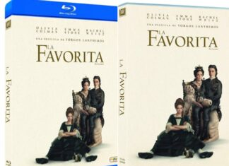 La Favorita en DVD y BLU-RAY