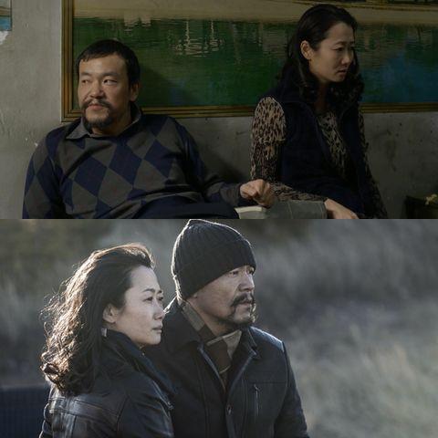 Tao Zhao y Fan Liao como Qiao y Bin