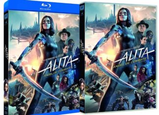 Alita Ángel de combate en DVD y BLU-RAY