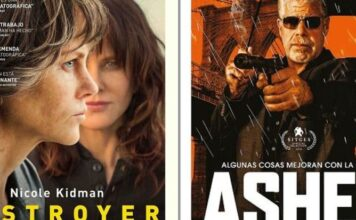 Asher en DVD y BLU-RAY