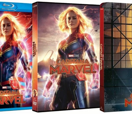 Capitana Marvel en DVD y BLU-RAY