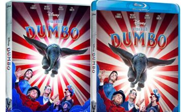 Dumbo en DVD y BLU-RAY