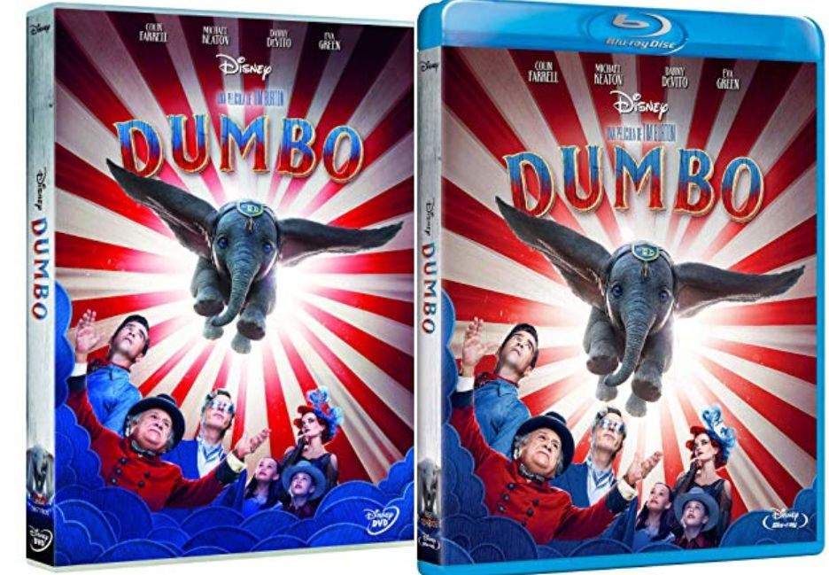 Dumbo en DVD y BLU-RAY