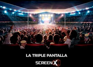 La Triple Pantalla ScreenX