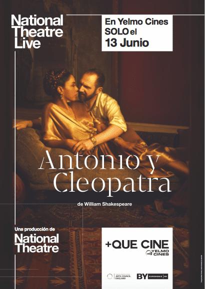 Póster de Antonio y Cleopatra