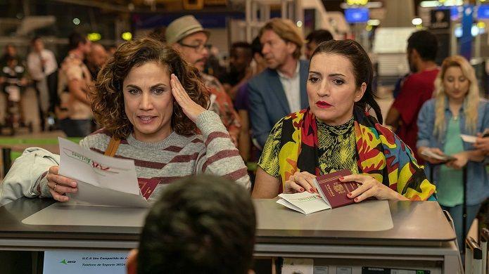 Toni Acosta y Silvia Abril en Padre no hay más que uno