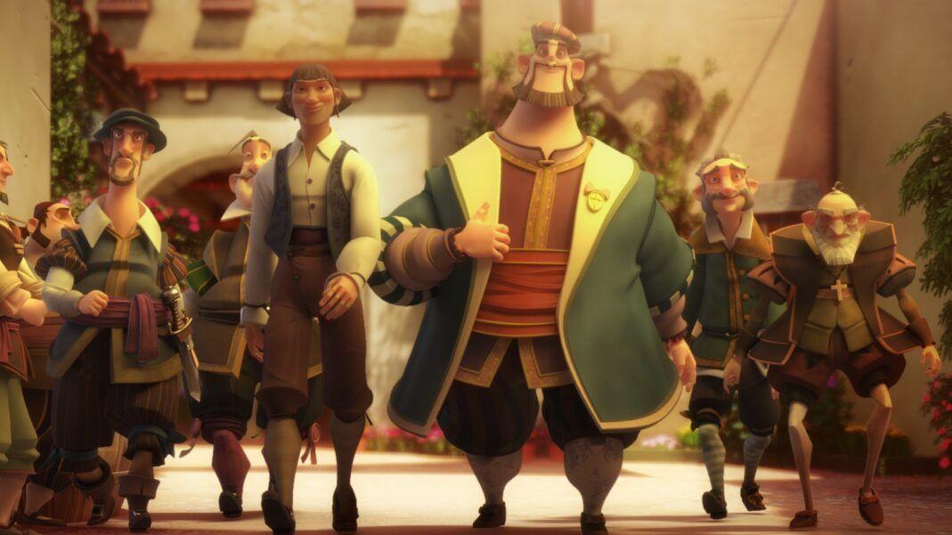 Elcano y Magallanes Portada