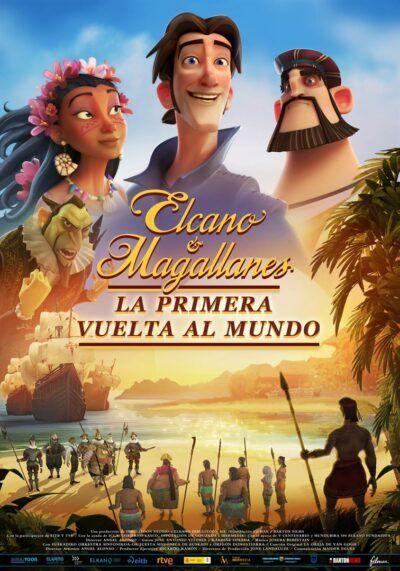 Elcano y Magallanes Póster