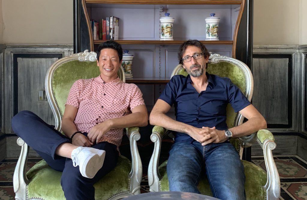Alberto Jo Lee y Paco R. Baños