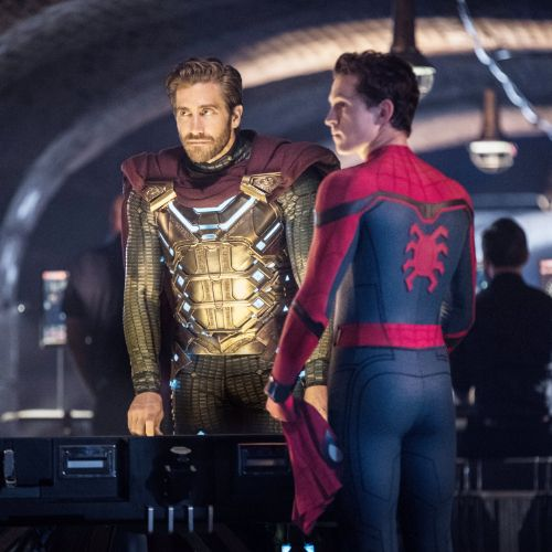 Jake Gyllenhaal y Tom Holland | Copyright Sony Pictures