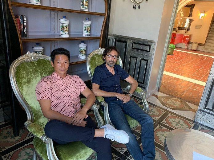 Paco R. Baños y Alberto Jo Lee