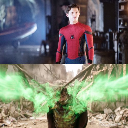 Tom Holland y Jake Gyllenhaal   Copyright Sony Pictures