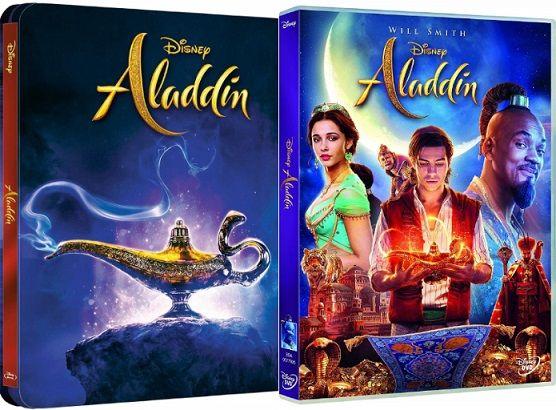 Aladdin en DVD y BLU-RAY