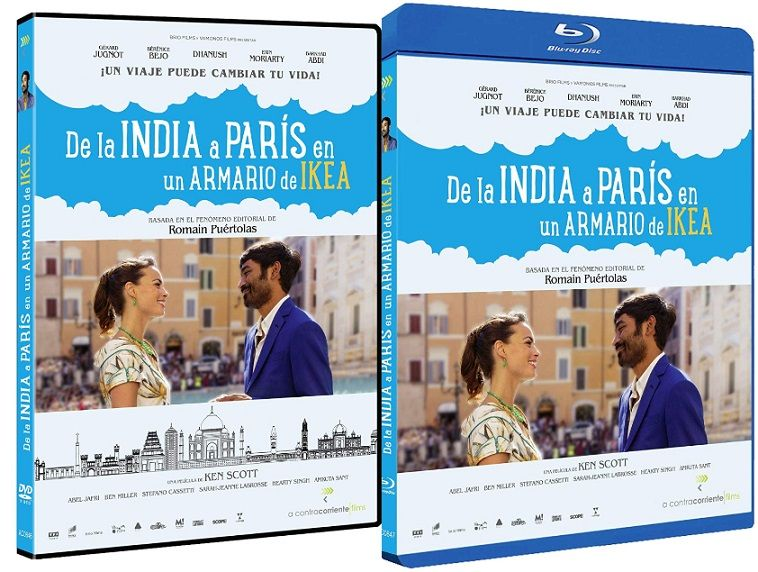 De la India a París en un armario de IKEA en DVD y BLU-RAY