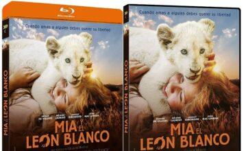 Mia y el león blanco en DVD y BLU-RAY