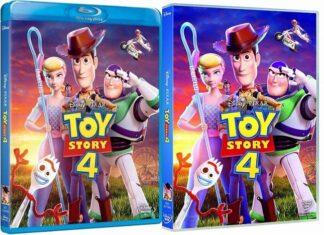 Toy Story 4 en DVD y BLU-RAY